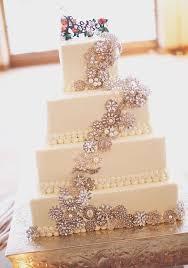 2016 Vintage Glam Wedding Cake Theme
