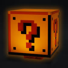 Super Mario Question Block Lamp Uk by Super Mario Table Lamp Buy Online Now