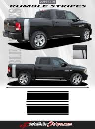 2009-2018 Dodge Ram Rumble Bee Rear Bed Truck Stripes Vinyl Graphic ...