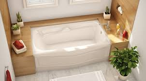 bathtubs unique features tiling flange aker by maax