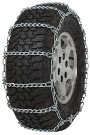 255/55-17 255/55R17 TIRE Chains 5.5mm Link Non-Cam Snow Traction SUV ...