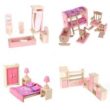 Amazoncom 4 Set Dollhouse Furniture Kid Toy Bathroom Kid Room