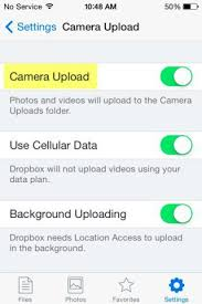 How to Automatically Upload iPhone and iPad s to Dropbox