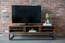 TV Console Reclaimed Pallet Wood Media Stand Entertainment Center Cabinet