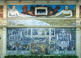 Diego Rivera Rockefeller Mural by Penccil Diego Rivera