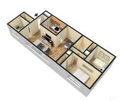104 Two Bedroom Apartment Design 1 And 2 Layouts Woodridge S