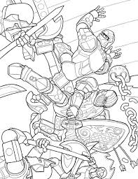 Lego Knights Kingdom Coloring Pages