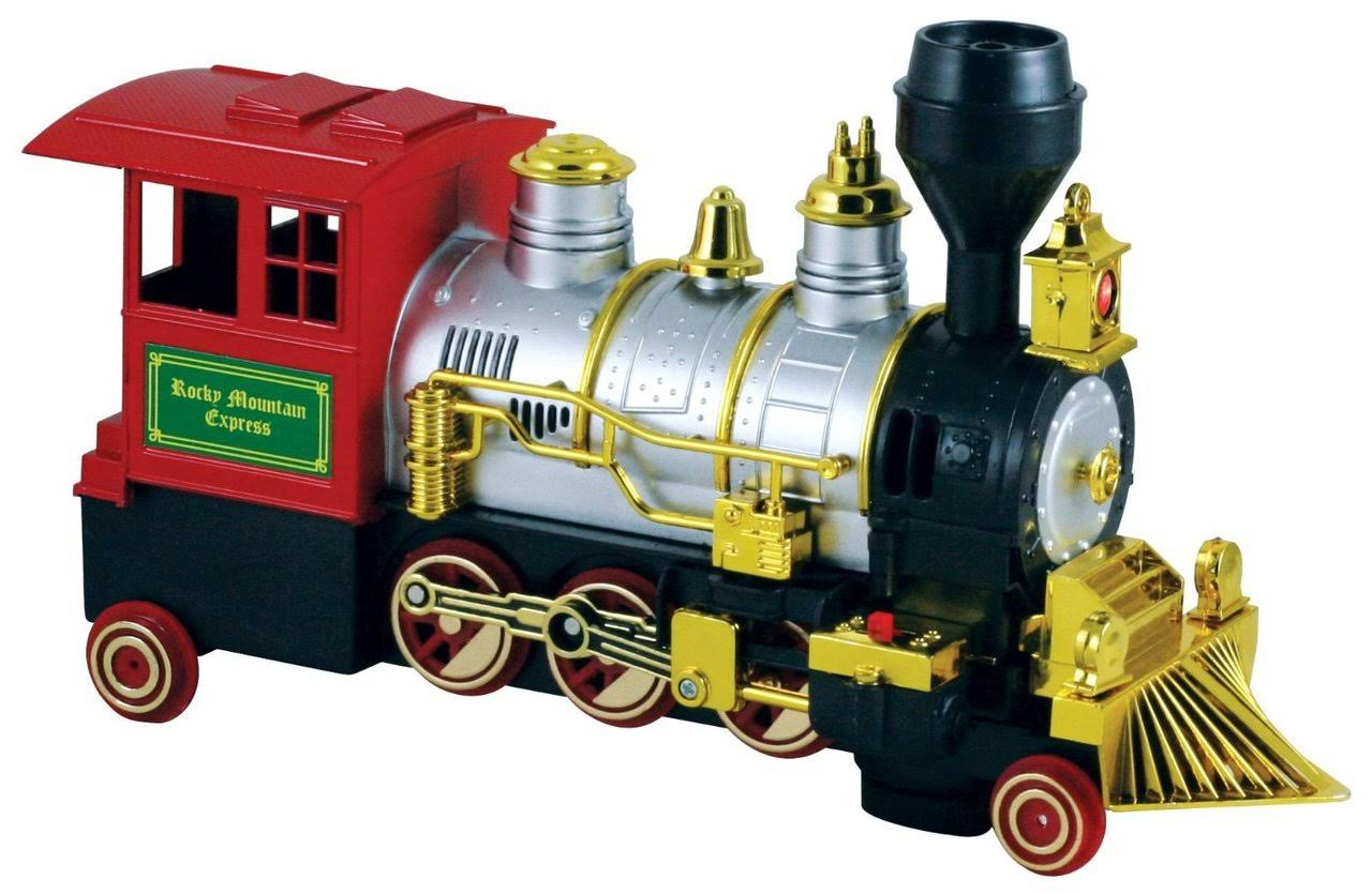 Wow Toyz Battery Operated Rocky Mountain Jr. Train Vehicle