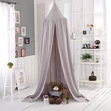 vplay betthimmel kinder baldachin fürs wohnzimmer deko grau