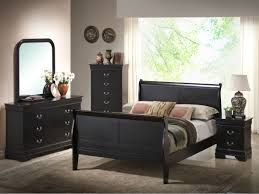 black louis philippe 5 pc twin bedroom 5934