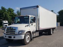 100 Miller Truck Leasing 2013 HINO 268A BOX VAN TRUCK FOR SALE 602779