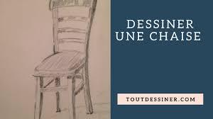 dessiner une chaise apprendre a dessiner une chaise tutoriel de dessin