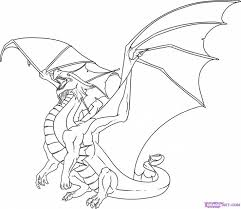 Dragon Coloring Pages Adults