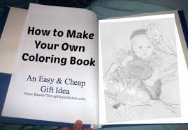 How To Make A Coloring Book SO EASY And Cheap Perfect For Birthday Parties
