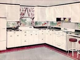 1947 Pink Gray Kitchen