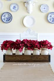 Christmas And Fall Table Centerpiece Planter Box With 5 Pint