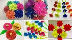 6 Simple Paper Flowers