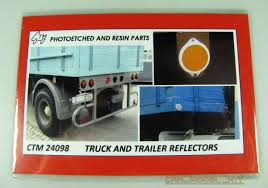 100 Resin Model Truck Parts And Trailer Reflectors Czech Carmodelkitcom