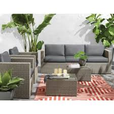 wholehome md new york 5 piece deep seating conversation patio