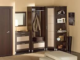Floor To Ceiling Tension Rod Curtain by Wardrobe Design With Dressing Table Exposed Concrete Wall Tension
