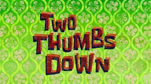 That Sinking Feeling Spongebob Transcript by Two Thumbs Down Transcript Encyclopedia Spongebobia Fandom