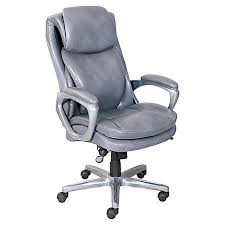 serta smart layers air arlington executive chair graypewter by
