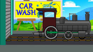 Train Wash Video For Kids | Car Wash Videos | V... - With Loop ...