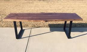 Natural Live Edge Table