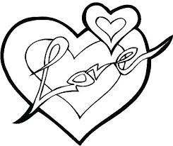 Broken Heart Coloring Pages Sheet Full
