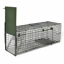 live cat trap vidaxl live animal catch trap 1 door iron mesh cage prey hunt