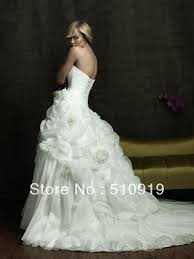 turmec audrey hepburn style ball gown wedding dress