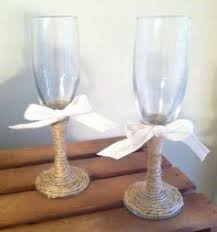 Rustic Wedding Champagne Flutes By KatieRoseCreationz 2000