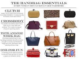 essential handbags every woman should own theginamiller com