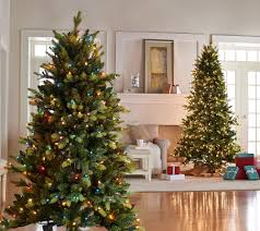 Martha Stewart Pre Lit Christmas Tree Troubleshooting by Bethlehem Lights 6 5 Prelit Noble Spruce Tree W Multi Functions
