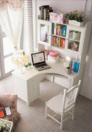 Borgsj Corner Desk Hack by Best 25 Desk With Shelves Ideas On Pinterest Desk Ideas White