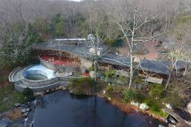 100 Water Fall House Incredible Frank Lloyd Wright House With 15 Acres And