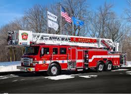 100 Bangor Truck Fire Department Aerial