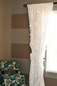 Purple Waterfall Ruffle Curtains by Curtains Purple Ruffle Curtains Attraction Pastel Curtains