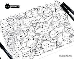 Cute Kawaii Sushi Coloring Pages