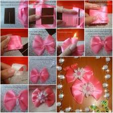 How To Make Beginner Flower Bow Step By DIY Tutorial Instructions