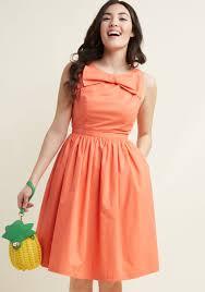 60s Plus Size Retro Dresses Clothing Costumes