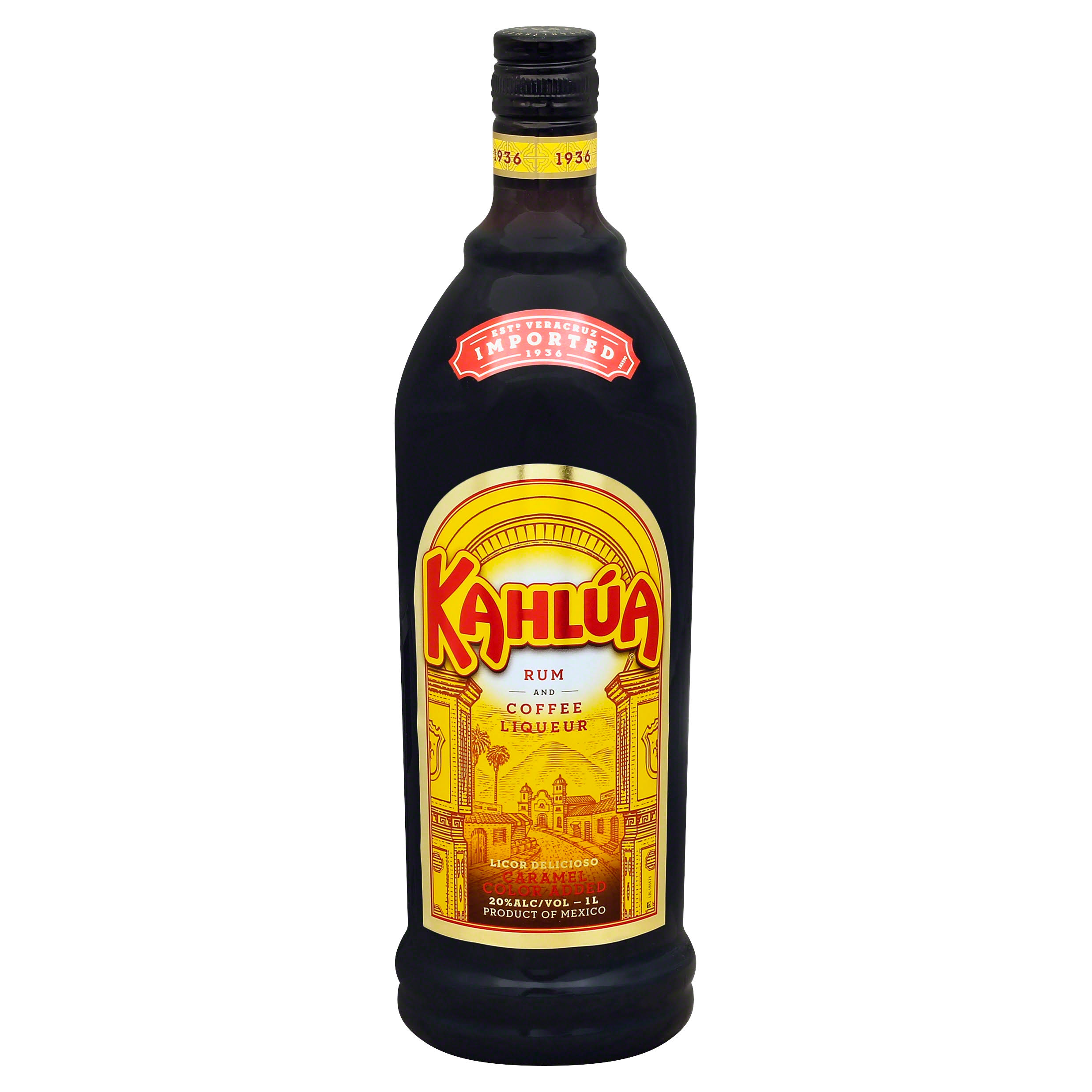 Kahlua Liqueur, Rum and Coffee - 1 lt