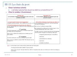 definition franco de port introduction a la comptabilite ppt télécharger
