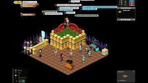 Habbo Hotel FALLING FURNI Ep 4 Old School FF Room