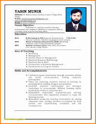 Curriculum Vitae Sample Format Malaysia New Resume For Nurse Awesome Best
