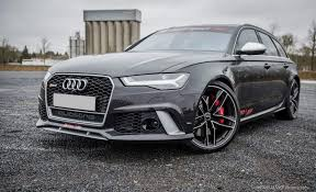 Audi RS6 Best looking performance station wagon out there
