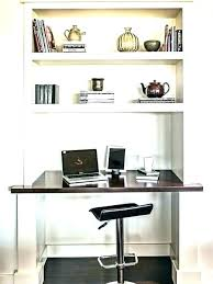 Office Wall Shelving Desk With Shelves On Top Above Mounted