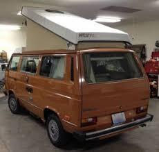 Orange 1984 VW Vanagon Westfalia Camper W Manual Trans 88k Miles