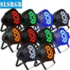 10pcs lot 18x15W rgbwa par can light price with perfect color