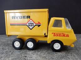Vintage Tonka Toy Ryder Moving Metal Dump Truck | #1808509781